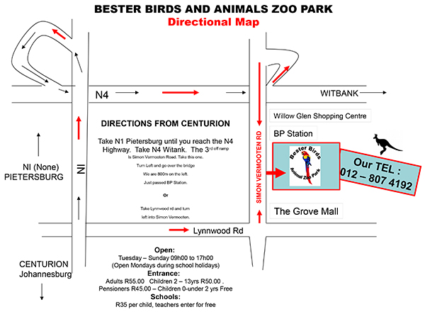 Map of Zoo 2016